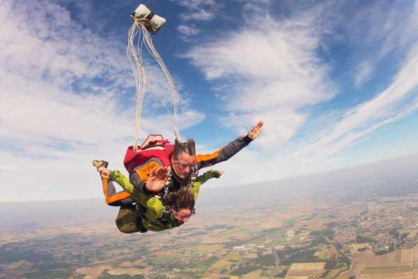 saut en parachute nievre